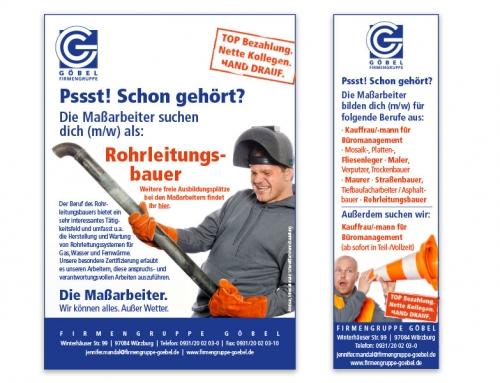 Firmengruppe Göbel – Anzeigen