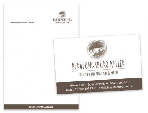 Beratungsbüro Keller – Logo & Geschäftsausstattung